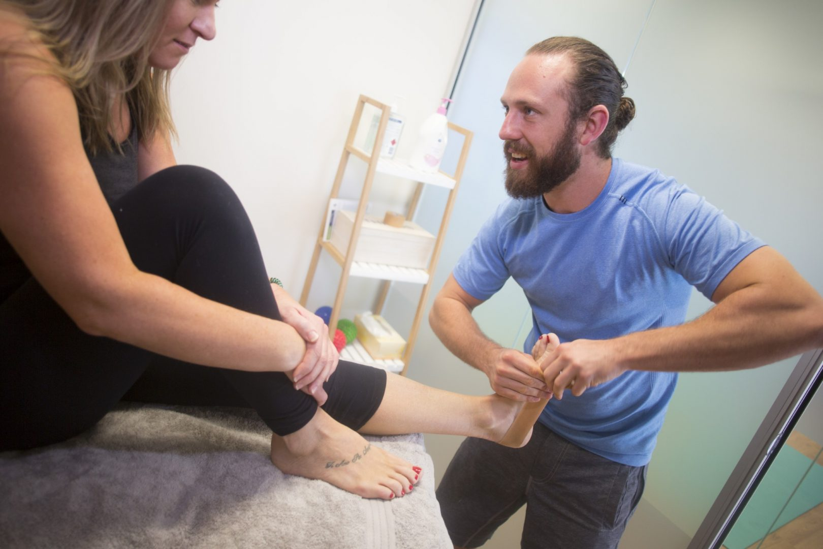 How many physical therapy sessions are necessary to recover from an injury?
